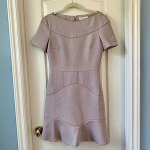 Reiss Lavender Drop Waist Dress